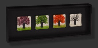 "Four Seasons Horizontal 22"" x 8"" $350"