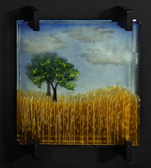 "The Golden Fields of Wheat 20"" x 20"" - $1,000"