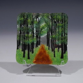 "Forest Path 3.5"" x 3.5"""