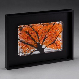 "Under the Fall Tree 9"" x 7"""
